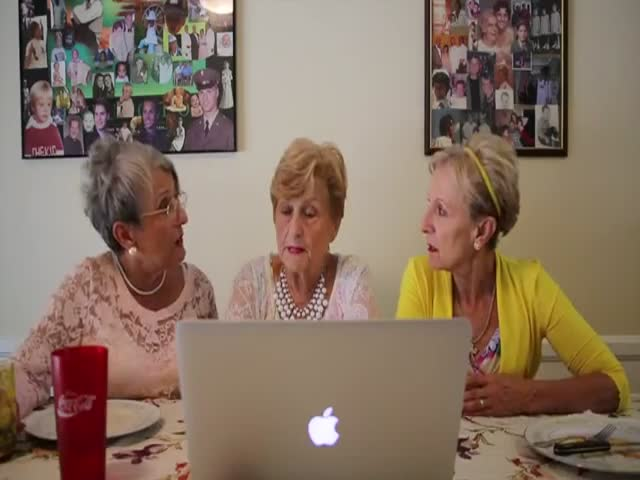 "Old Ladies Get Their ""Twerk"" on Like Miley Cyrus"