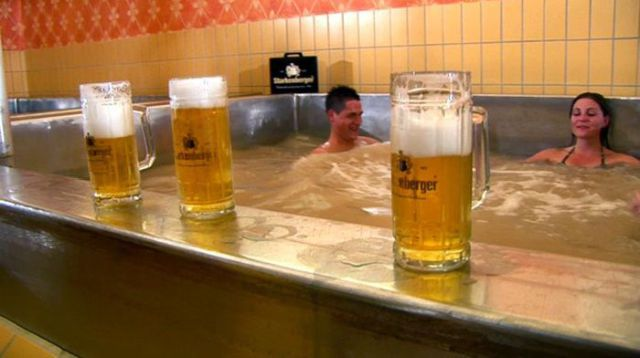 A Swimming Pool Filled with Beer Is No Longer Just a Fantasy