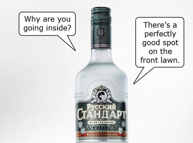 Thanks a Lot Alcohol!