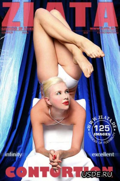 This Bendable Blonde Contortionist Is Sex on Legs