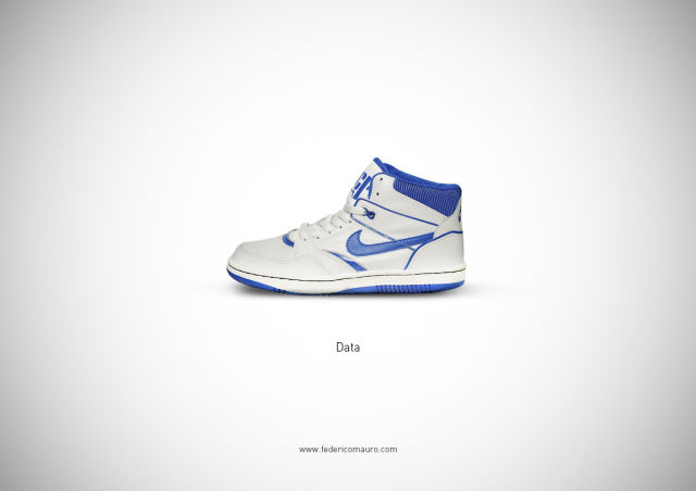 Famous People Represented as Shoes