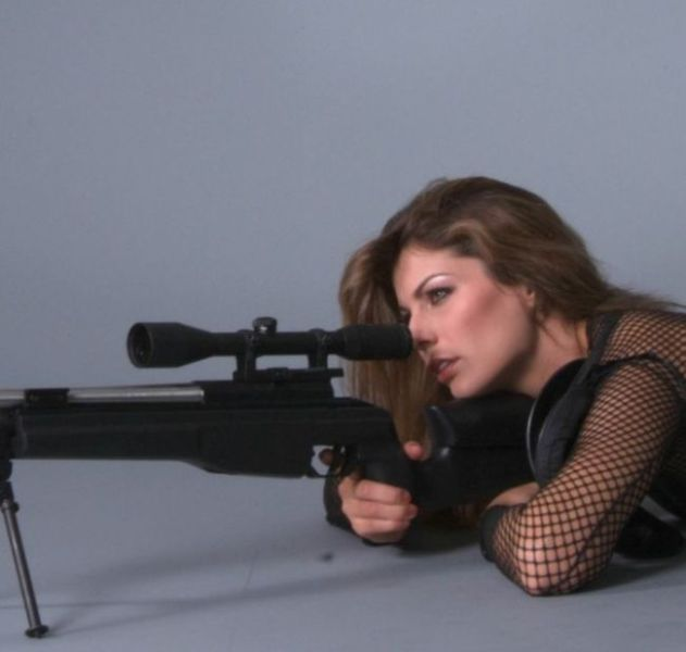 Sexy Weapon Wielding Ladies
