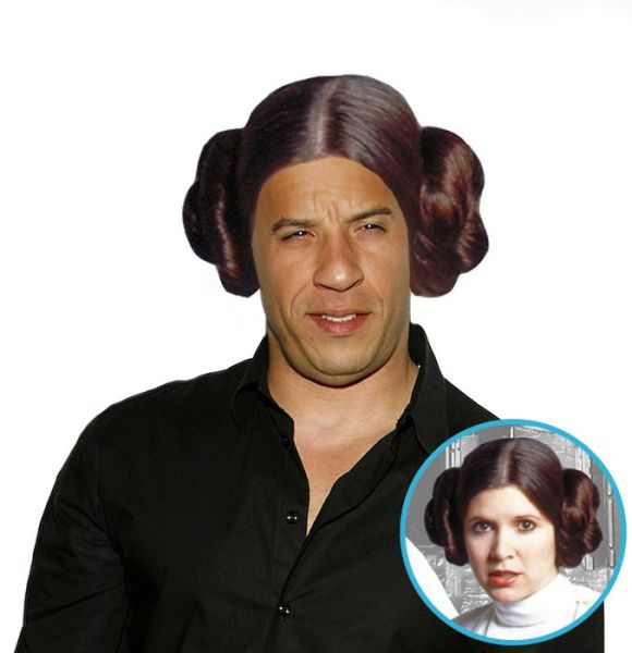 Hilarious Pics of Vin Diesel with Hair…