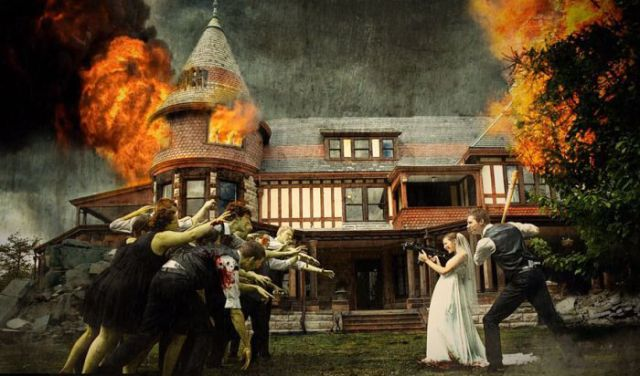Scary Wedding Party Attack Causes Chaos