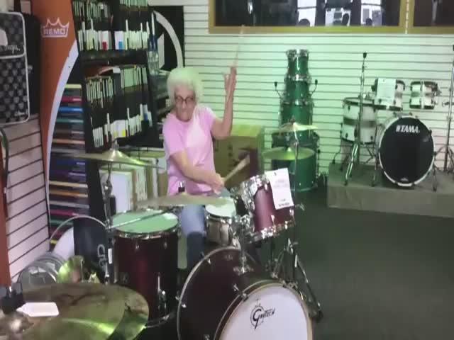 This Grandma's Got Game