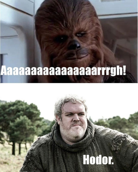 "A Fun Comparison of ""Star Wars"" and ""Game of Thrones"""