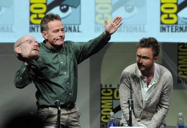 "An Epic ""Breaking Bad"" Character Transformation at Comic Con"