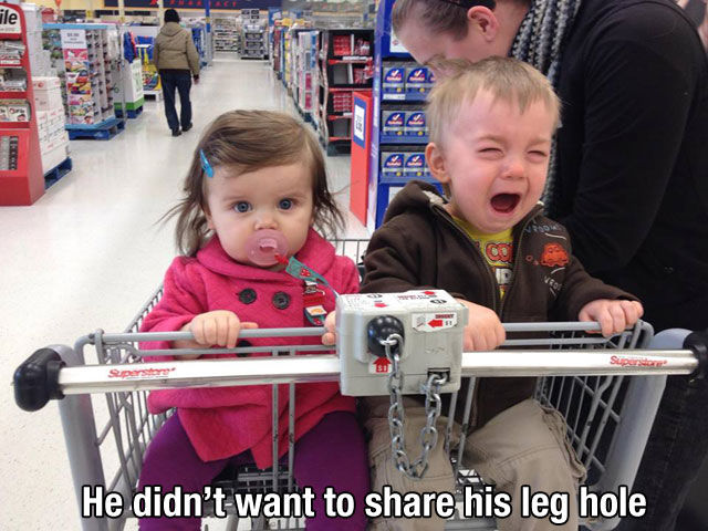 So My Kid Is Actually Crying Because…