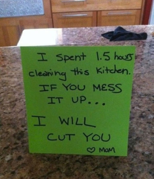 Amusing Notes from Parents who See the Funny Side of Life