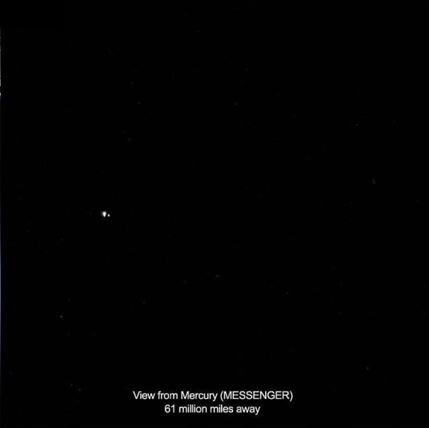 Earth As Seen from 900 Million Miles Away