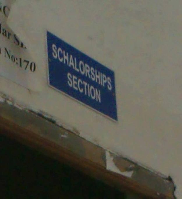 Indian Spelling Fails That Are Too Funny for Words