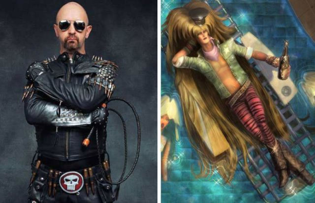 Popular Celebs as Video Game Characters