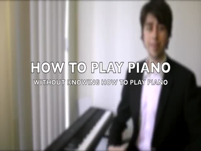 A Simple Trick That Will Turn You into a Piano Player in an Instant