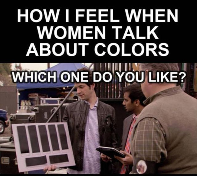 What Men Really Think When You Ask Them about Colors