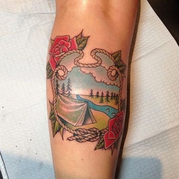 Terrific Travel Lovers Tattoo Art