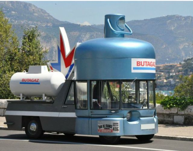 Advertising Goes Mobile in Creatively Themed Product Vehicles