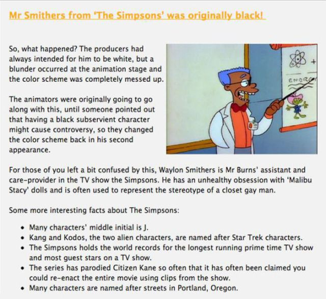 "Brush Up on Your ""The Simpsons"" Trivia"