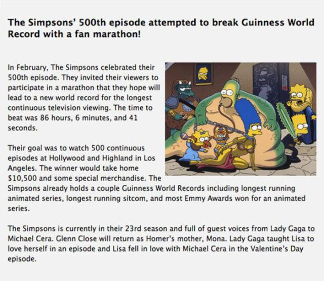"""Brush Up on Your """"The Simpsons"""" Trivia"""