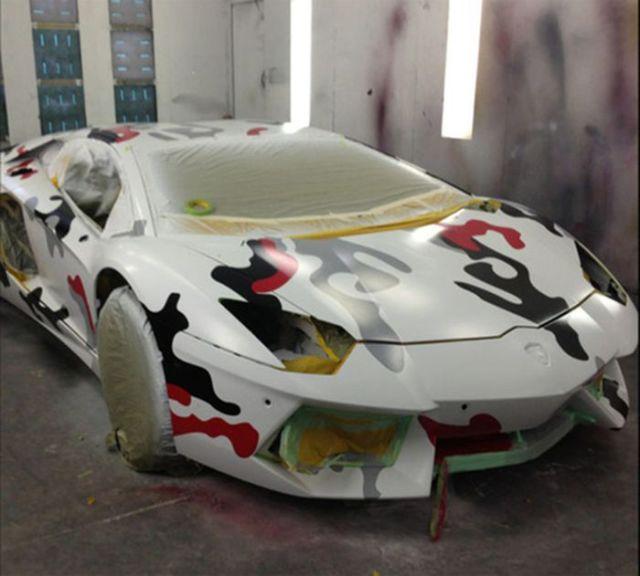 Chris Brown's Radically Customised Lamborghini Aventador