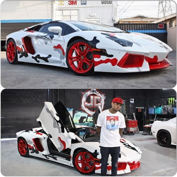 Here S What Cars Will Look Like In 30 Years: Chris Brown's Radically Customised Lamborghini Aventador