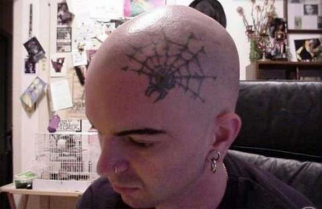 Head Tattoos That Are Quite Creative