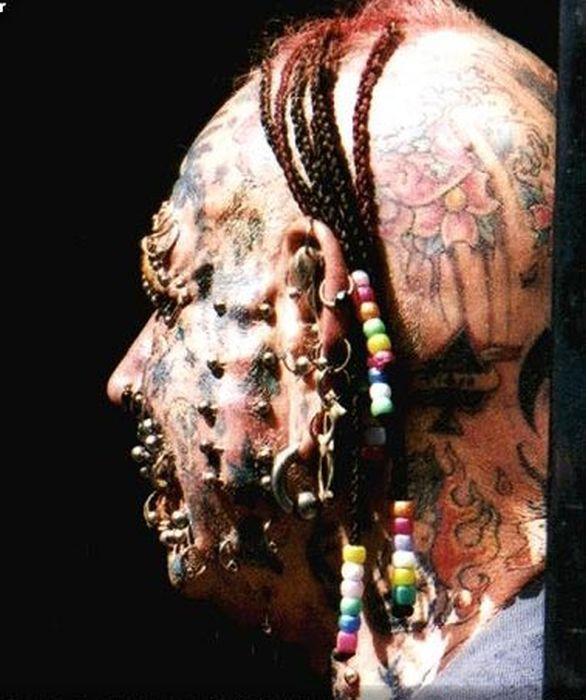 Head Tattoos That Are Quite Creative
