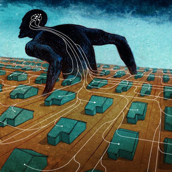 Social Problems Depicted in Cool Cartoon Art (62 pics