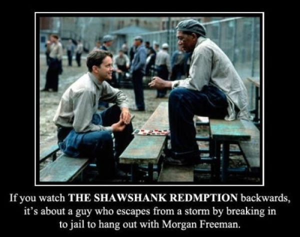 Great Movies Played Backwards Have the Funniest Storylines