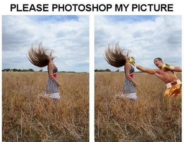 Photoshop Trolling Funnies