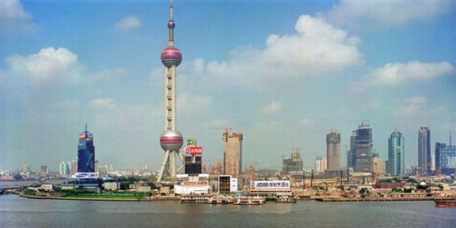Shanghai Past and Present