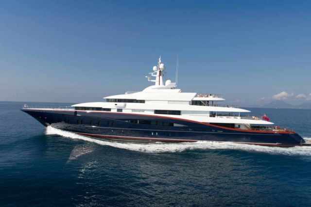 Travel in Style on This Gorgeous Luxury Mega-Yacht