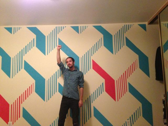 Artistic Wall Art Designed by a Programmer