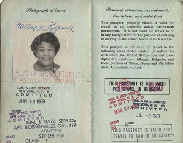 Celebrity Passport Photos from Back in the Day
