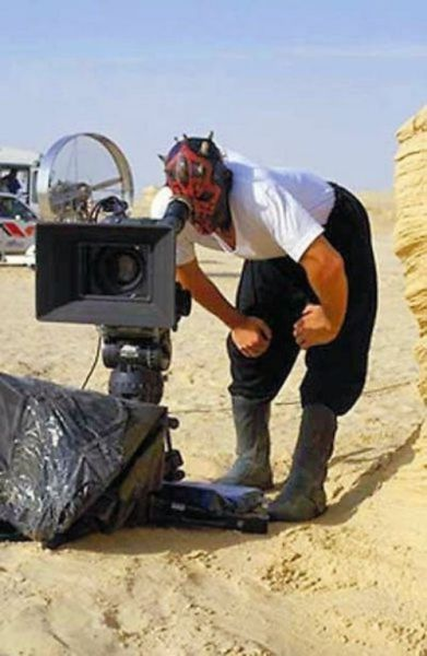 Some of the Behind-the-scenes Action on Great Films