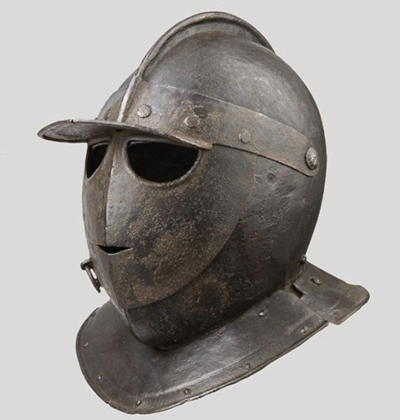 Armored Combat Helmets from an Era Gone-by