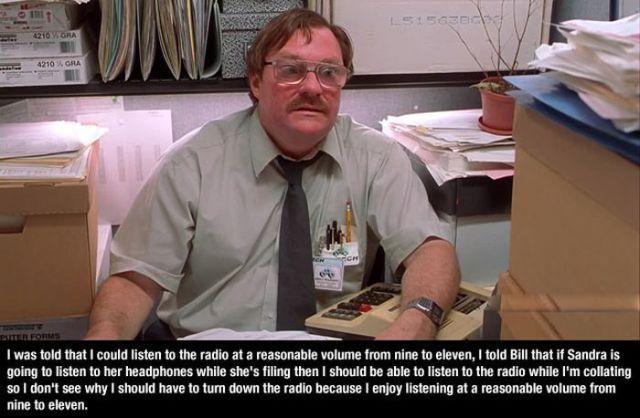 Office Space Quotes Extraordinary The Most Memorable Office Space Quotes 10 Pics  Picture 5