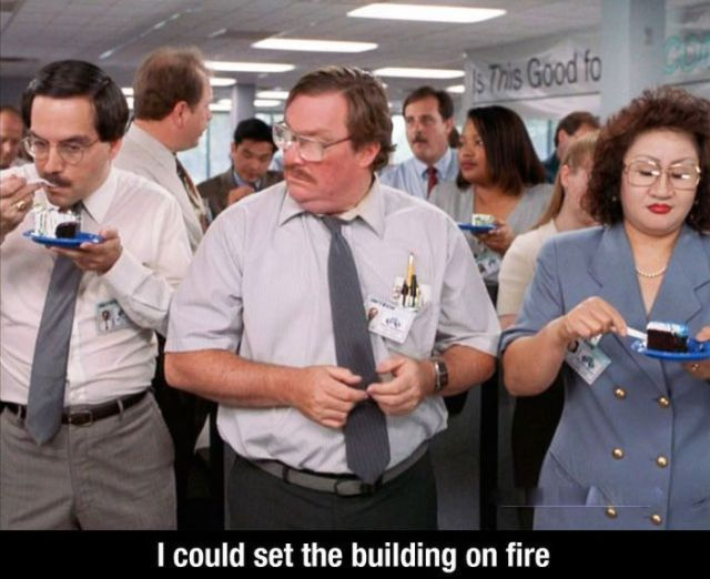 The most memorable office space quotes 10 pics picture for Office space pics