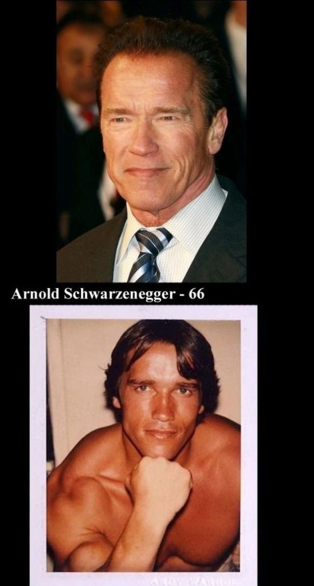 A Few Aging Actors: Past and Present