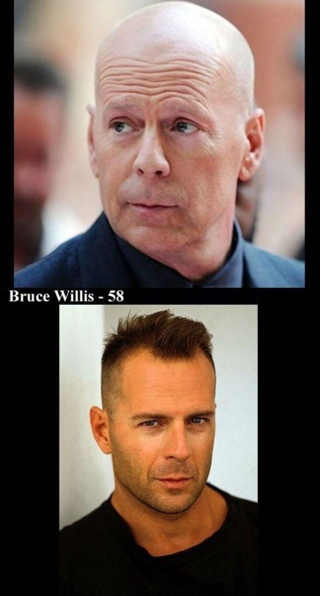 A Few Aging Actors: Past and Present
