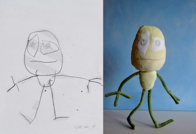 Children's Drawings Inspire a New Range of Toys