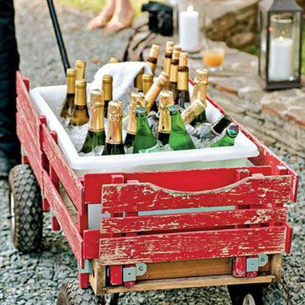 Clever and Creative Summer Drink Stations