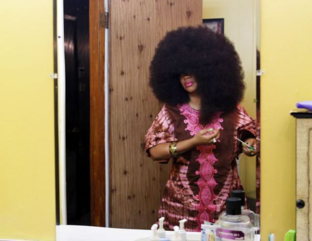 The Woman with the Guinness World Record Hair Do