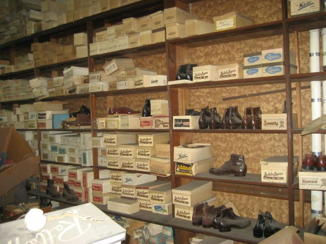 A Shoe Store That's Frozen in Time