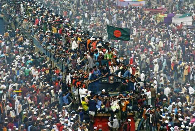 Celebration Chaos in Bangladesh