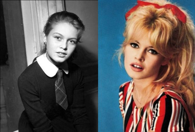 Celebrities Before and After They Got Famous