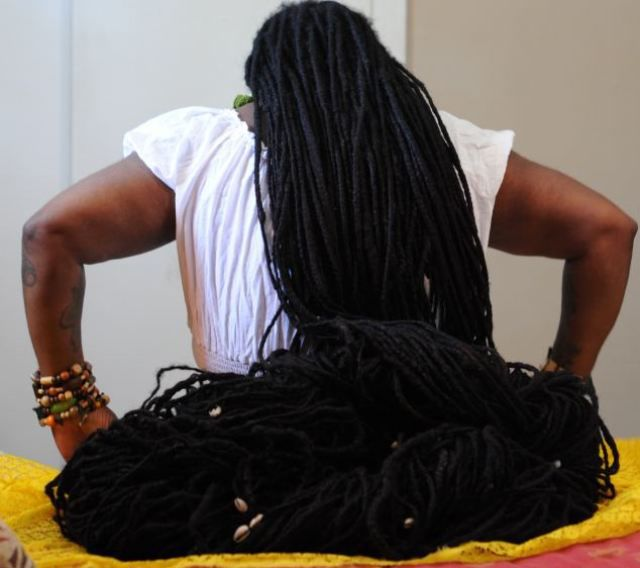 Ever Wondered What Rapunzel Would Look Like In Real Life with Dreadlocks?