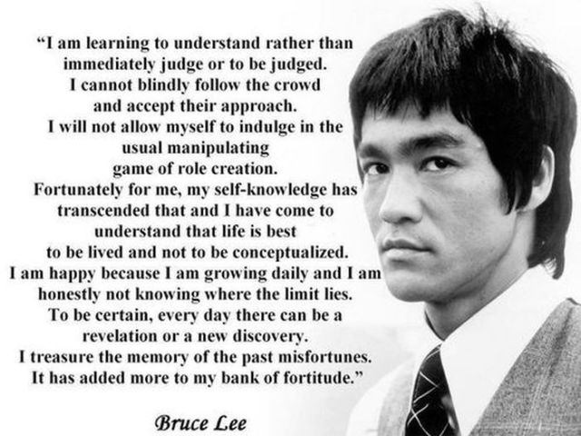 Bruce Lee's Most Inspiring Quotes!