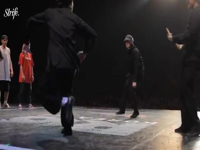 Breakdance Level: Asian