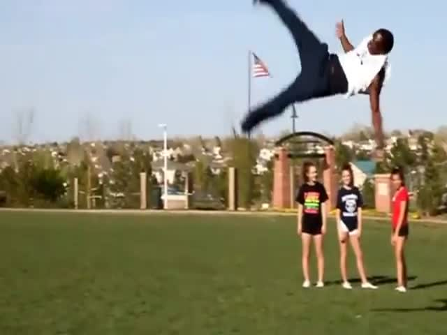 This Talented Guy Does Spectacular Flips and Jumps