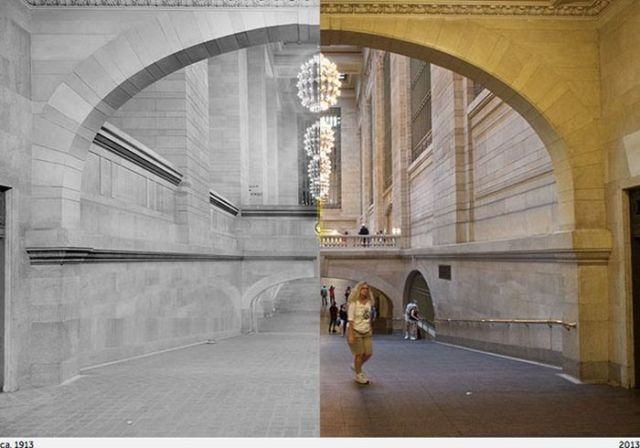 A Photo Project Where Past and Present NYC Collide